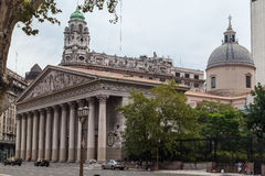 Plaza de Mayo Μπουένος Άιρες Στοκ εικόνα με δικαίωμα ελεύθερης χρήσης