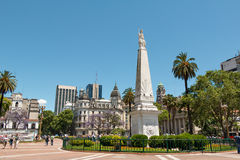 Plaza de Mayo, Μπουένος Άιρες Argentinien Στοκ Εικόνες