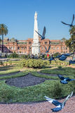 Plaza de Mayo στο Μπουένος Άιρες, Αργεντινή. Στοκ Εικόνες