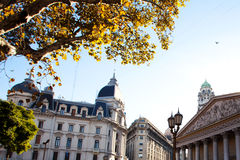 Plaza de Mayo στο Μπουένος Άιρες, Αργεντινή Στοκ εικόνα με δικαίωμα ελεύθερης χρήσης