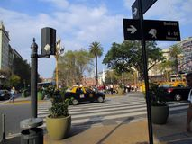Plaza de Mayo του Μπουένος Άιρες Αργεντινή Στοκ φωτογραφίες με δικαίωμα ελεύθερης χρήσης