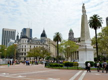 Plaza de Mayo. Buenos Aires, Argentina Royalty Free Stock Photography