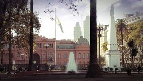 Plaza De Mayo In Buenos Aires stock footage