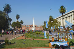 Plaza de Mayo - Buenos Aires - Argentina foto de stock