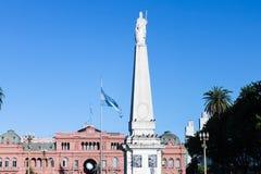 Plaza de Mayo Buenos Aires foto de stock