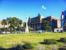 Plaza de Mayo en Buenos Aires, la Argentina fotografía de archivo libre de regalías