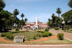 Plaza de Mayo la Argentina Imagen de archivo libre de regalías
