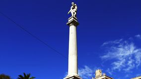 The Plaza de Mayo is the main square in Buenos Aires, Argentina. The Plaza de Mayo English: May Square is the main square in Buenos Aires, Argentina stock footage