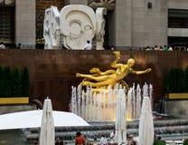 Plaza de New York City Rockefeller Fotografía de archivo libre de regalías