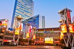 Plaza de Nokia à la LA sous tension à Los Angeles du centre Images libres de droits