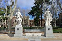 Plaza de Oriente, Μαδρίτη Στοκ Εικόνες