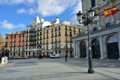 Plaza de Oriente, Μαδρίτη Στοκ εικόνες με δικαίωμα ελεύθερης χρήσης