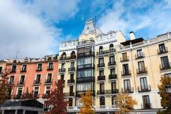 Plaza de Oriente, Μαδρίτη Στοκ εικόνα με δικαίωμα ελεύθερης χρήσης