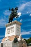 Plaza de Oriente στη Μαδρίτη, Ισπανία Στοκ Εικόνες