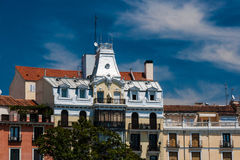 Plaza de Oriente στη Μαδρίτη, Ισπανία Στοκ εικόνα με δικαίωμα ελεύθερης χρήσης