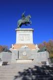 Plaza de Oriente στη Μαδρίτη Στοκ εικόνα με δικαίωμα ελεύθερης χρήσης