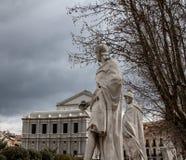 Plaza de Oriente Στοκ Φωτογραφίες