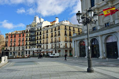 Plaza de Oriente, Madrid Royalty Free Stock Images
