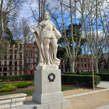 Plaza de Oriente, Madrid Royalty Free Stock Photos