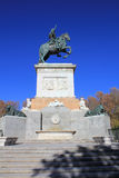 Plaza de Oriente in Madrid Royalty Free Stock Image