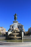 Plaza de Oriente in Madrid Royalty Free Stock Photo
