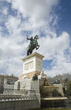 Plaza de Oriente, Madrid Royalty Free Stock Photography