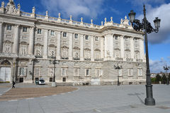 Plaza de Oriente and Royal Palace, Madrid Stock Photo