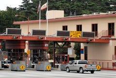 Plaza de péage Photo stock
