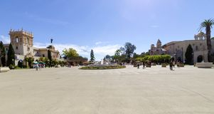 Plaza de Panama, Balboa Park Stock Photography