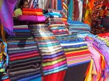 Plaza de Ponchos Fotos de archivo libres de regalías