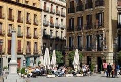 Plaza de Ramales - Μαδρίτη Στοκ εικόνες με δικαίωμα ελεύθερης χρήσης