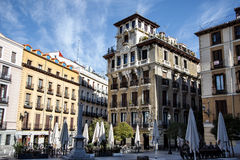 Plaza de Ramales, Μαδρίτη, Ισπανία Στοκ Εικόνες