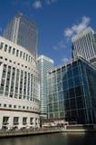 Plaza de Reuters, zonas das docas, Londres Fotografia de Stock Royalty Free