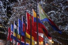 Plaza de Rockefeller, New York City Fotos de archivo libres de regalías