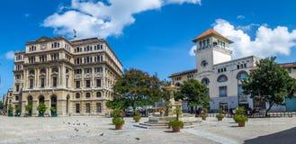 Plaza de San Francisco and Terminal Sierra Maestra - Havana, Cuba Stock Images
