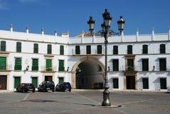 Plaza de San Jose, Aguilar de la Frontera royaltyfria foton