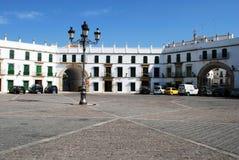 Plaza de San Jose, Aguilar de la Frontera arkivbilder