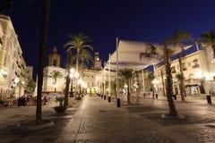 Plaza de San Juan de Dios, Cadiz Stock Image