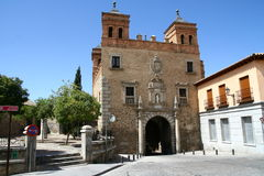 Plaza de San Martin in Toledo Stock Images