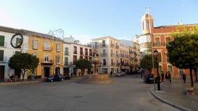 Plaza de SAN Sebastian-Antequera- Ανδαλουσία-ΙΣΠΑΝΙΑ Στοκ εικόνες με δικαίωμα ελεύθερης χρήσης