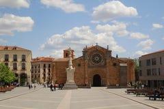Plaza de Santa Τερέζα de Ιησούς, Avila, Ισπανία Στοκ Φωτογραφίες