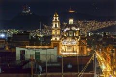 Plaza de Santa Domingo εκκλησίες Zocalo Πόλη του Μεξικού Μεξικό Στοκ Φωτογραφίες