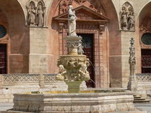 Plaza de Santa Maria, Burgos ( Spain ) Stock Photos