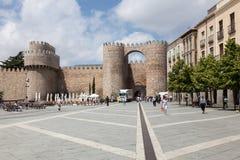 Plaza de Santa Teresa in Avila stock image