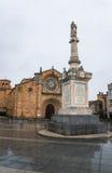 The Plaza de Santa Teresa Stock Images