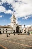 Plaza de Santo Domingo Κουίτο Ισημερινός Νότια Αμερική Στοκ Εικόνες