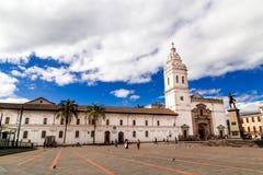Plaza de Santo Domingo Κουίτο Ισημερινός Νότια Αμερική Στοκ φωτογραφία με δικαίωμα ελεύθερης χρήσης