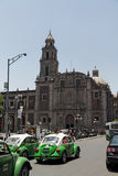 Plaza de Santo Domingo Mexico City Stock Photography