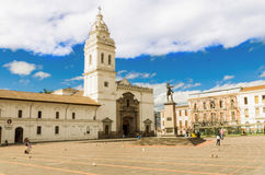 Plaza de Santo Domingo Quito Ecuador South America Stock Image