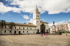 Plaza de Santo Domingo Quito Ecuador South America Stock Images